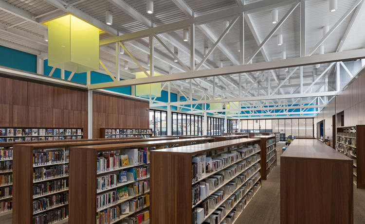 <p>Hennepin County Walker Library</p>