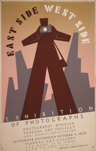 <p>East side, West side exhibition of photographs, 1938.</p>