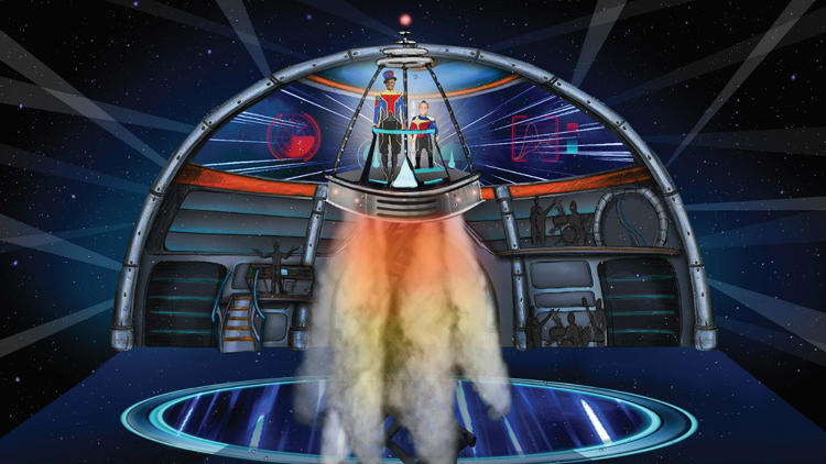 "<p>The new show is an actual narrative, an outer space adventure. ""It's not just a presentation of circus acts,"" says CEO Kenneth Feld. ""It's taking the audience on a journey.""</p>"