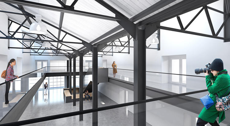 <p>The complex will also offer art studios to companies that want to send an employee to be surrounded by artists. The first tenant will be Adobe.</p>