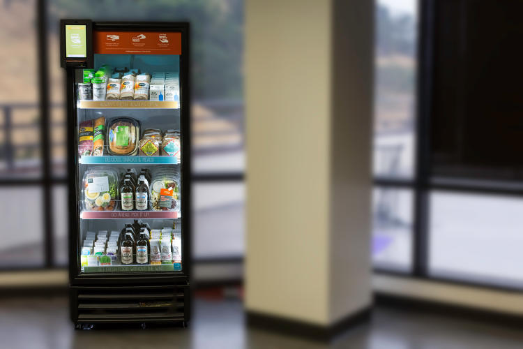 <p>Unlike a vending machine, where candy bars might stay in place for as long as a year, Byte's food has a shelf life of as little as two days.</p>