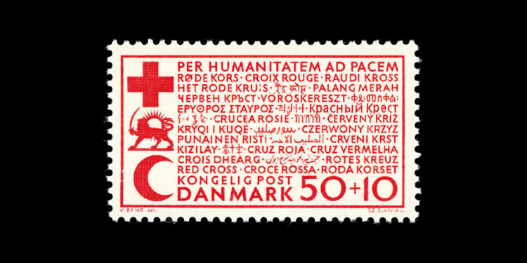 <p>Denmark, 1966; For the benefit of Danish Red Cross. Designed by Viggo Bang.</p>