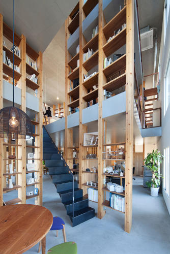 <p>The open, multi-floor layout of Mamiya Shinichi Design Studio makes it perfect for hosting clients in the day and holding events in the evenings.</p>