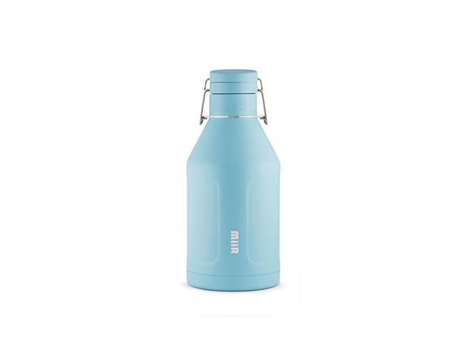 <p>This one is completely essential to a camp/work trip: A tough growler of a cold sour or I.P.A. can be your campsite companion.</p>