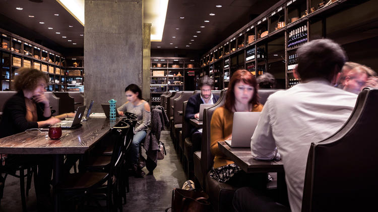 <p>Here's why some restaurants and coffee shops are opening their doors to freelancers during off-hours.</p>