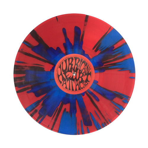 <p>This is transparent red with blue splatter.</p>