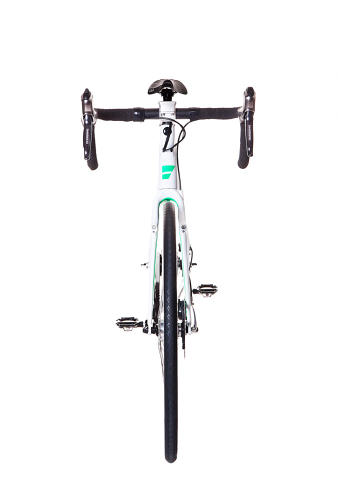 <p>The front lights are built into the fork, and the back light is built into the top tube, so they can't be stolen without taking the entire bike.</p>