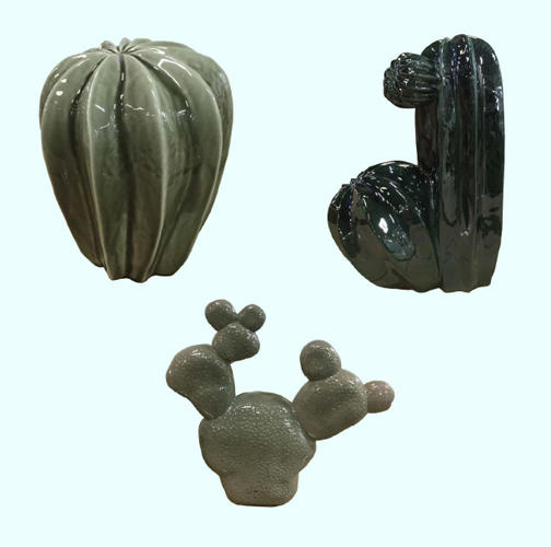 <p>Ceramic Cacti by Lina Cofan for Hay, $89 each from MoMA Store</p>