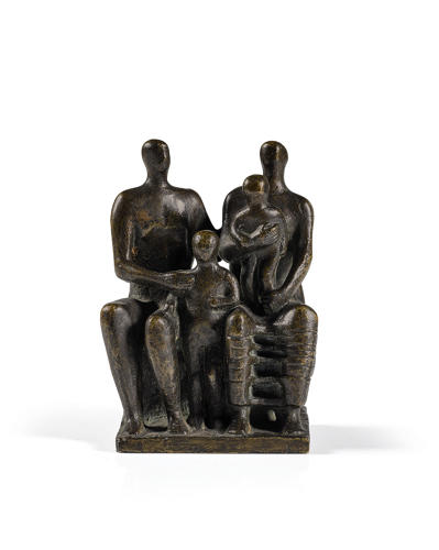 <p>Henry Moore, Family Group (1944)</p>