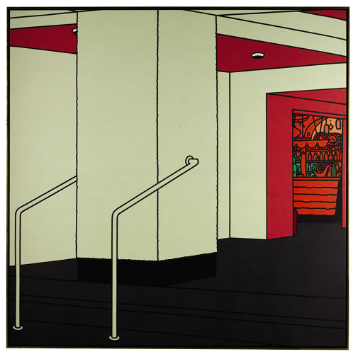 <p>Caulfield, Foyer (1973)</p>