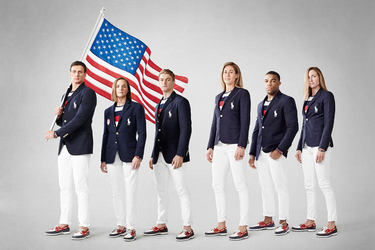 <p>The 2016 opening ceremony outfits</p>