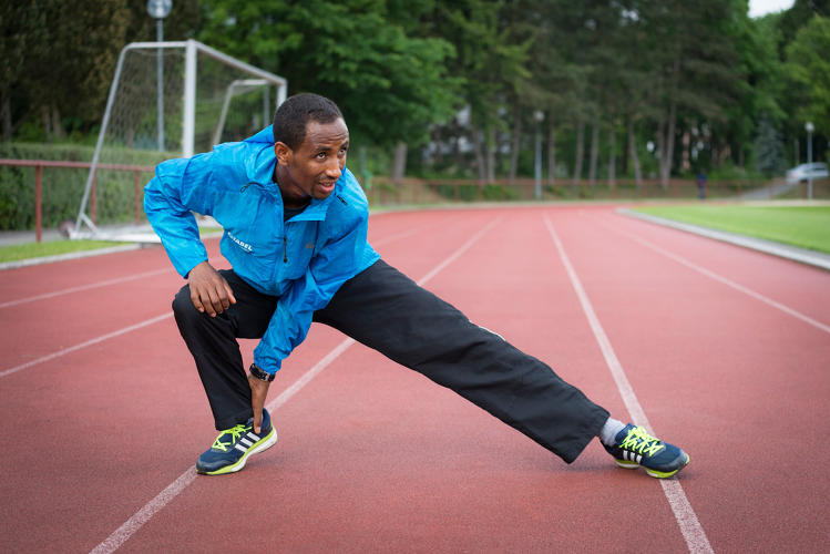 <p>Ethiopian refugee Yonas Kinde will compete in the marathon.</p>
