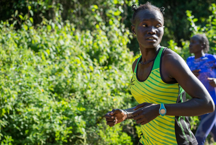 <p>South Sudanese refugee Rose Nathike Lokonyen will compete in the 800-meter run.</p>