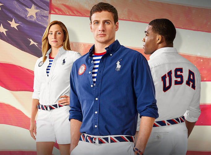 <p>Ralph Lauren's recent campaign for the Rio Olympics.</p>