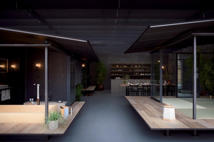 <p>The department store chain Isetan Mitsukoshi and architects Makoto Tanijiri and Ai Yoshida designed a versatile house that targets the &quot;new nomad.&quot;</p>