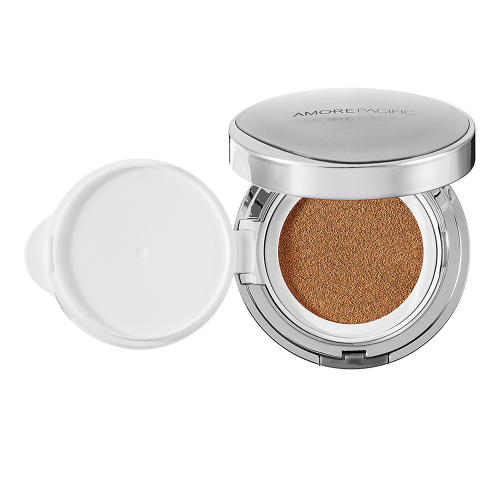 <p>AmorePacific's Color Control Cushion Compacts offer buildable SPF coverage in a mess-free compact ($60, sephora.com).</p>