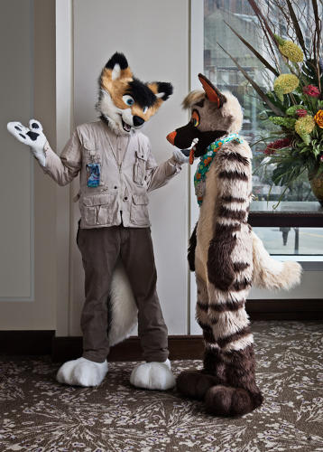 <p>Anthroconversation, Anthrocon. Pittsburgh, Pennsylvania 2015</p>