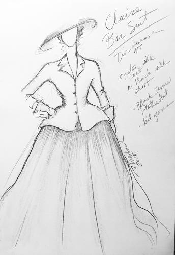 <p>Claire Randall Fraser Sketch</p>