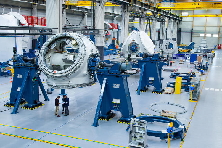 <p>GE is out on ships now installing the wind turbine structures in a round-the-clock operation that they expect to last a total of about 25 days.</p>