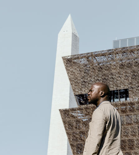 <p>Architect <strong>David Adjaye</strong> wanted the building itself to tell a story.</p>