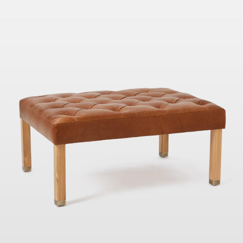 <p>The <a href=&quot;http://www.westelm.com/products/commune-low-cushion-ottoman-h2242/?pkey=ccommune&amp;&amp;ccommune&quot; target=&quot;_blank&quot;>Commune and West Elm Tufted Ottoman</a></p>