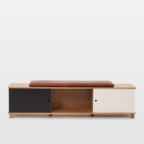 <p>The <a href=&quot;http://www.westelm.com/products/commune-storage-bench-h2256/?pkey=ccommune&amp;&amp;ccommune&quot; target=&quot;_blank&quot;>Commune and West Elm Storage Bench</a></p>