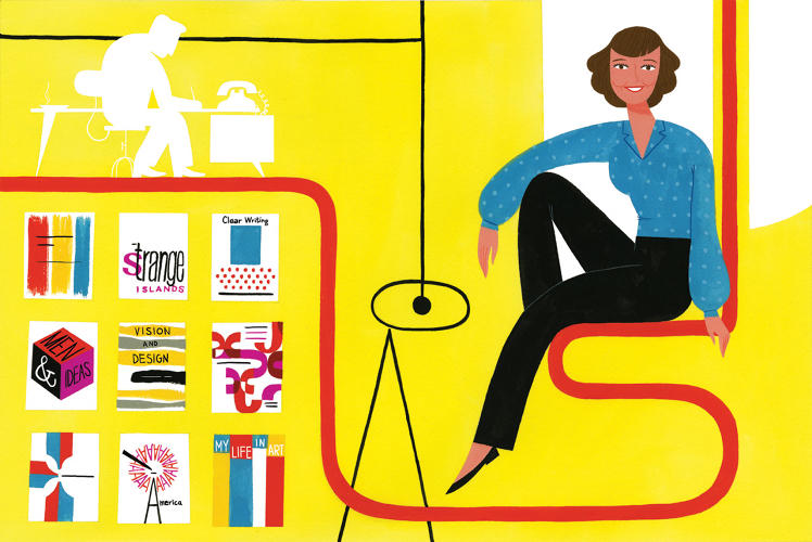 <p>The graphic designer and artist Elaine Lustig Cohen said, &quot;My gender may have been an issue for other designers, but not for my clients.&quot;</p>
