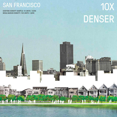 <p>The design maps out how neighborhoods bordering the waterfront could save themselves from rising water, with new parks at the water's edge.</p>