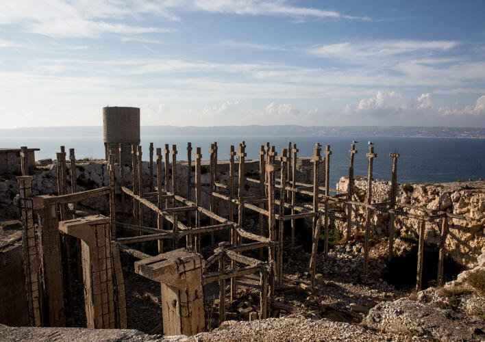 <p>The German army designed <a href=&quot;http://www.totallylost.eu/space/falso-cimitero-sullisola-di-ratonneau/&quot; target=&quot;_blank&quot;>this fake cemetery</a> to protect weaponry during the occupation of Ratonneau island off the coast of France. Photo by Leonardo Crociani.</p>