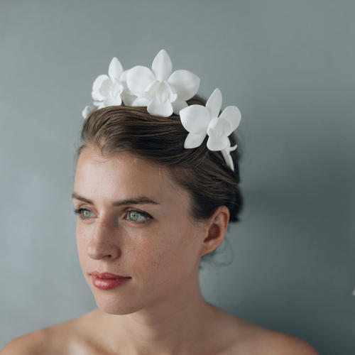 <p>Orchid crown by Collected Edition</p>