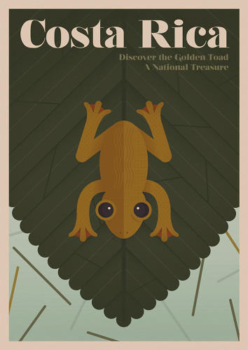 <p>A new series of vintage-style travel posters commemorates the species that travelers could have seen in the past, but no longer exist.</p>