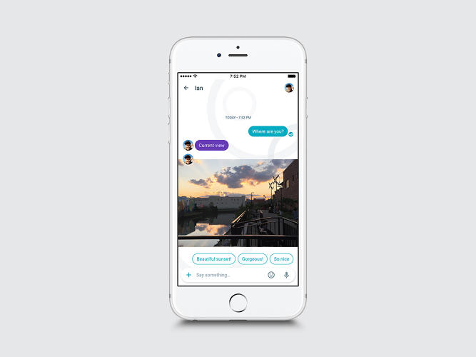<p>Allo creates smart replies that are carefully calibrated to both the content and context of your conversation.</p>