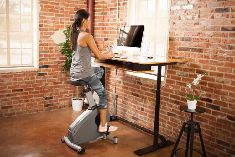 <p>Standing in one place all day, while better than slumping in a chair, isn't particularly active, and can lead to health problems of its own.</p>