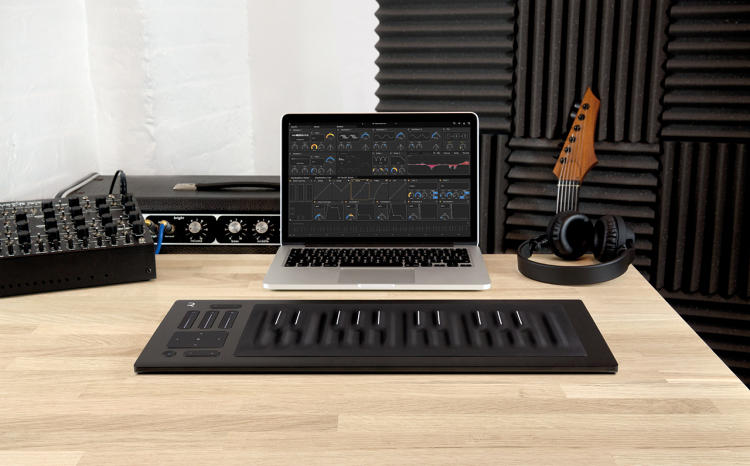 <p>ROLI's Seaboard RISE is a synth with a squishy keyboard--<a href=&quot;https://www.fastcodesign.com/1672208/ui-genius-a-synthesizer-with-a-squishy-keyboard&quot; target=&quot;_self&quot;>an act of UI genius</a>.</p>