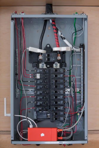 <p>Every electrical device in the house shows up on an app in a news feed of everyday life.</p>