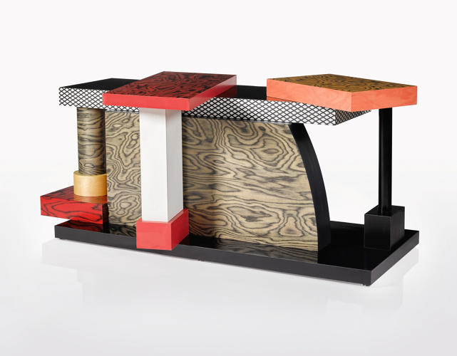 <p>Ettore Sottsass, 'Tartar' Centre Table</p>