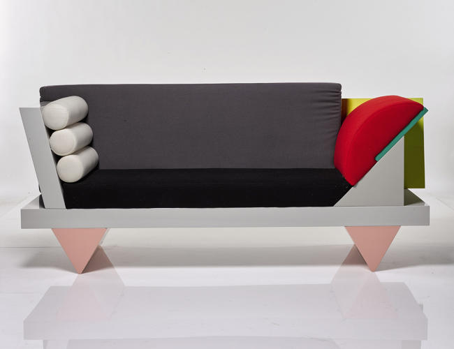 <p>Peter Shire, 'Big Sur' Sofa</p>