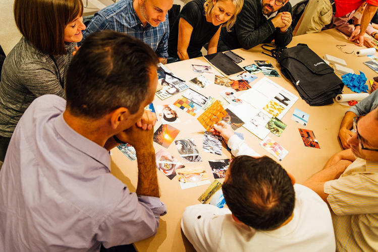 <p>Attendees at the <em>Fast Company</em> Innovation Festival participated in the design firm Snøhetta's creative process.</p>