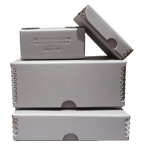 <p>Muji's multipurpose Found Muji Boxes II collection offers several different shapes and sizes.</p>