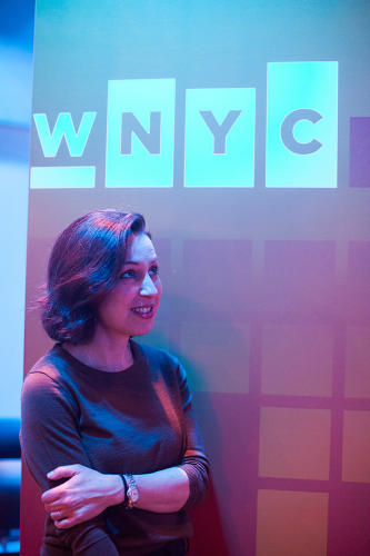 <p>Manoush Zomorodi, host of WNYC's <em>Note to Self</em>.</p>