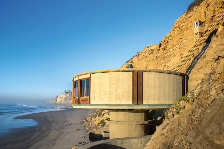 <p>San Diego: Bell Beach House, Dale Naegle, 1968.</p>