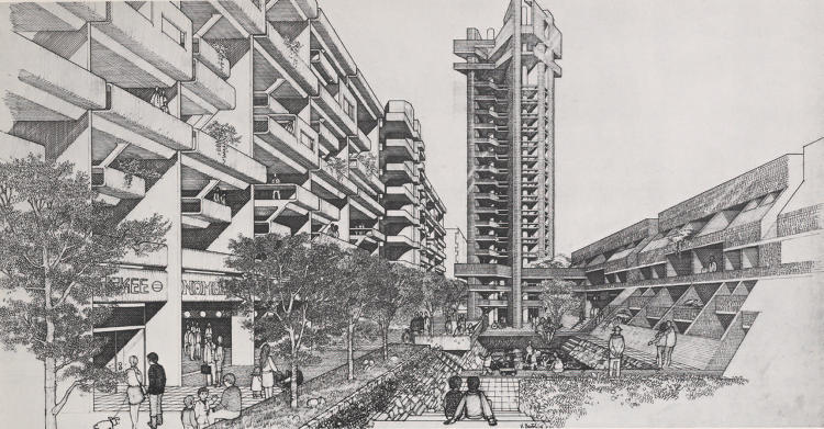 <p>Bronx Linear City proposed by mayor John Lindsay c. 1969</p>