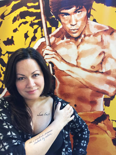 <p><strong>Shannon Lee</strong>, CEO of the Bruce Lee Family Company</p>