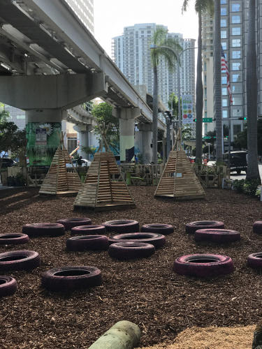 <p>The goal of the three-week experiment: to prove to residents in a car-centric city that it makes sense to permanently redesign Biscayne Boulevard.</p>