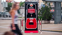 Amstel To Passers-By: Do Nothing, Get Beer