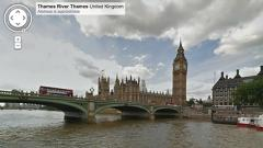 Google Street View Travels Down The River Thames