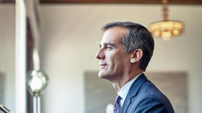 Why L.A. Mayor Eric Garcetti Relies On Jazz And Ruzzle To Get Through His Day