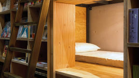 Tokyo's Best Hostel Lets You Have A Sleepover In A Bookstore