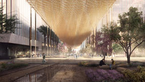 This Urban Canopy Could Help Cool Super-Hot Cities