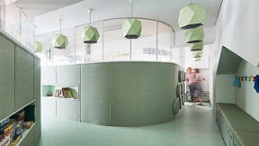 This School's Shape-Shifting Walls Let It Adapt Throughout The Day